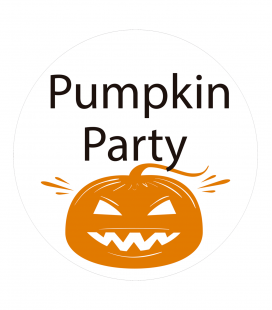 Party Pumkin - Decoravinilos