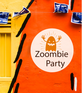 Zombie Party - Decoravinilos