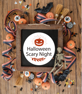 Halloween Scary - Decoravinilos