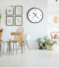 Reloj Time is Money -Decoravinilos-