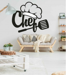 Chef House - Decoravinilos -