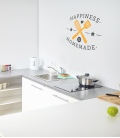 Happiness is homemade -decoravinilos-