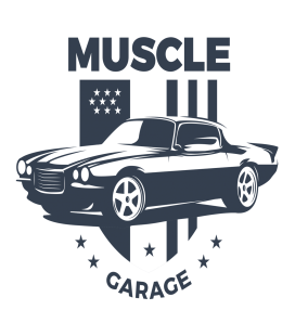 Muscle Garage - decoravinilos