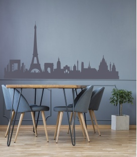 París Skyline - decoravinilos