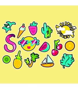 Tropical Summer stiker