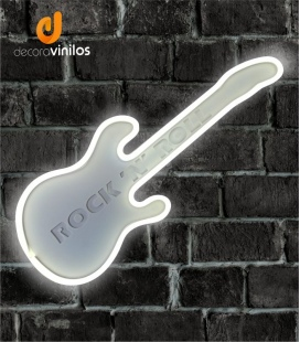 Guitarra Decorativa Led - MOD FENDER STRATOCASTER