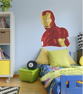 Vinilo Iron Man para pared - Decoravinilos