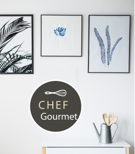 Chef Gourmet - Decoravinilos -