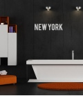 Letras New York vinilo - Decoravinilos