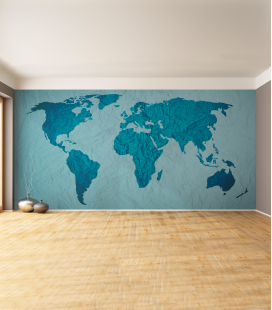 Map of the world - Decora Vinilos -