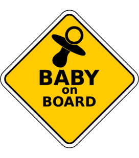 Baby on Board - Decora Vinilo -