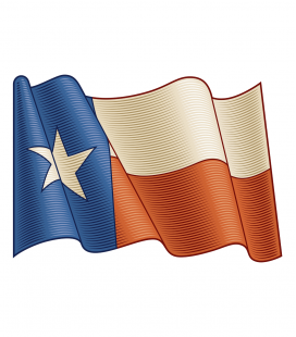 Texax Flag - Decora Vinilos -